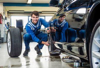 trocar os pneus