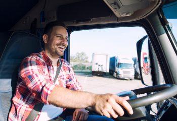 motorista de caminhão