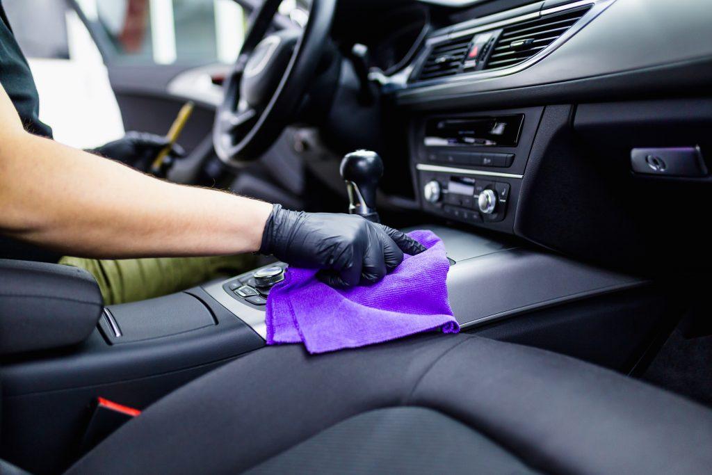 limpeza de carro