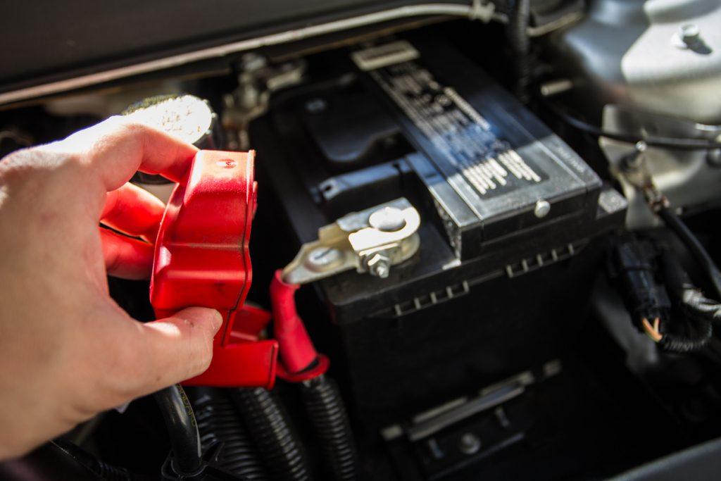 trocar bateria do carro